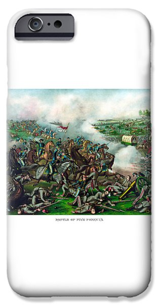 Battle of Five Forks iPhone Case by War Is Hell Store