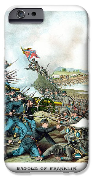 Battle Of Franklin iPhone Case by War Is Hell Store