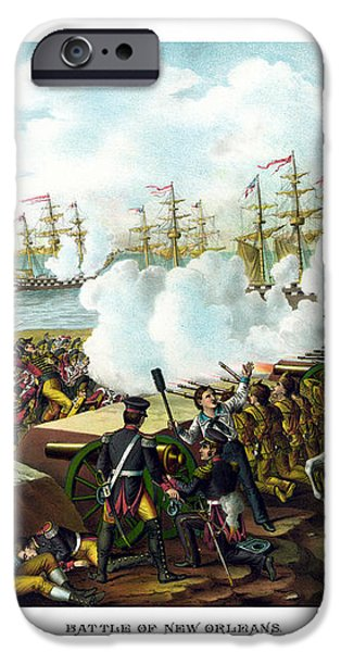 Battle of New Orleans iPhone Case by War Is Hell Store