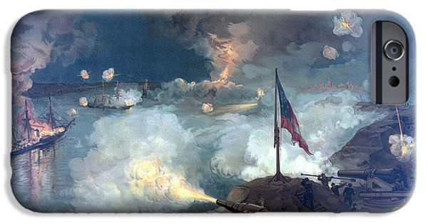 Canon iPhone Cases - Battle of Port Hudson iPhone Case by War Is Hell Store