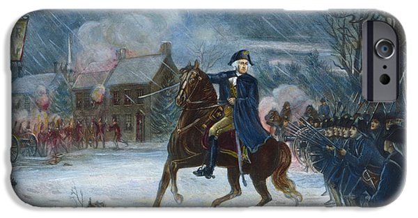 1776 iPhone Cases - Battle Of Trenton, 1776 iPhone Case by Granger