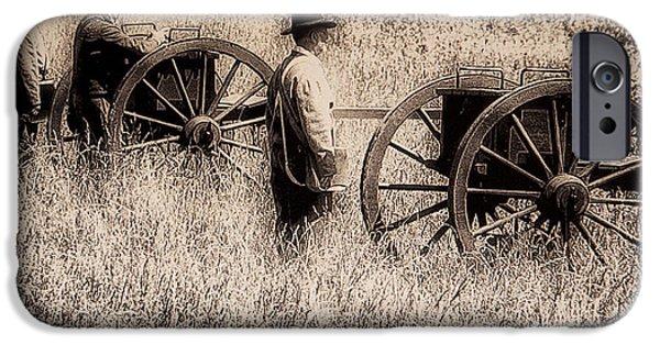 Gettysburg Digital iPhone Cases - Battle Ready - Gettysburg iPhone Case by Bill Cannon
