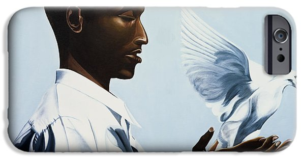 Freed Paintings iPhone Cases - Be Free Three iPhone Case by Kaaria Mucherera