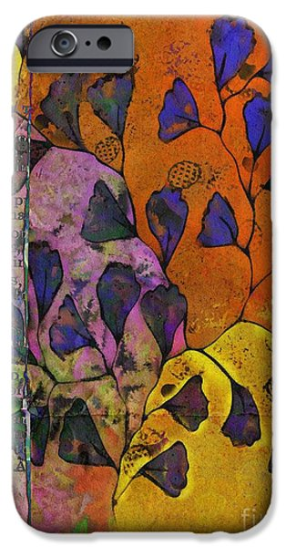 Newspaper iPhone Cases - Be Leaf - 2220a iPhone Case by Variance Collections