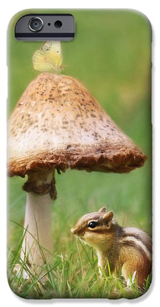 Animal Photography Mixed Media iPhone Cases - Be My Shelter iPhone Case by Lori Deiter