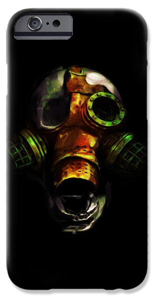 Gas Paintings iPhone Cases - Be Prepared iPhone Case by Adam Vance
