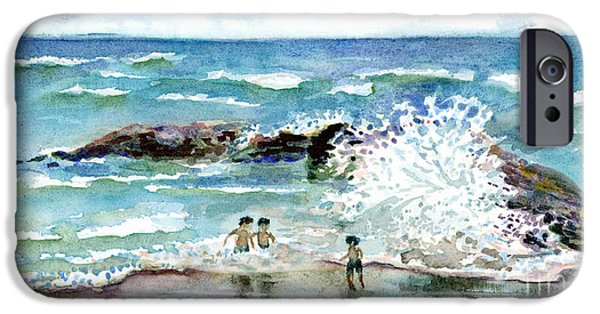 Beach iPhone Cases - Beach Amigos iPhone Case by Amy Kirkpatrick