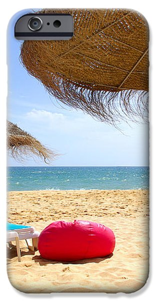 Beach Relaxing iPhone Case by Carlos Caetano