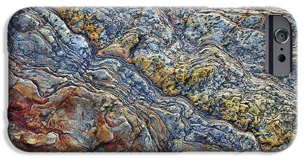Recently Sold -  - Red Rock iPhone Cases - Beach Rock Pattern  iPhone Case by Tim Gainey