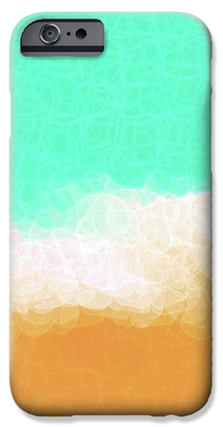 Beach Scene One iPhone Case by Mark Lawrence