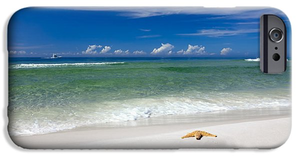 Gulf Of Mexico iPhone Cases - Beach Splendour iPhone Case by Janet Fikar