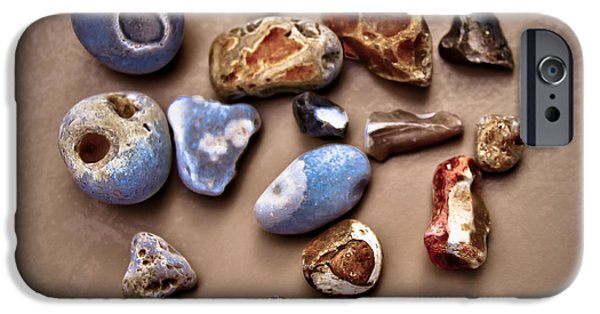 Shape iPhone Cases - Beach Treasures iPhone Case by Loriental Photography