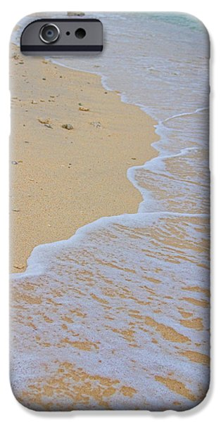 Stock Images iPhone Cases - Beach Water Curves iPhone Case by James BO  Insogna