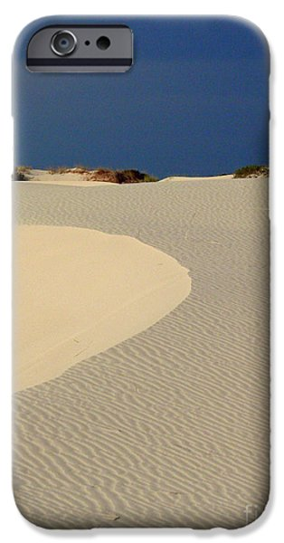 Beach With No Water iPhone Case by Mark Grayden