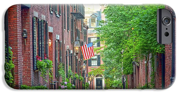 July iPhone Cases - Beacon Hill iPhone Case by Susan Cole Kelly