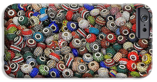 Diy iPhone Cases - Beads for bracelets iPhone Case by Marko Beric
