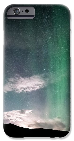 Moon iPhone Cases - Beam me up Scotty iPhone Case by Tor-Ivar Naess