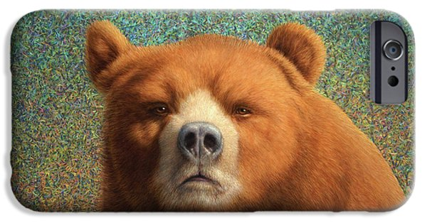 Up iPhone Cases - Bearish iPhone Case by James W Johnson