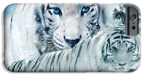 Recently Sold -  - The Tiger iPhone Cases - Beastly Buddies iPhone Case by Lourry Legarde