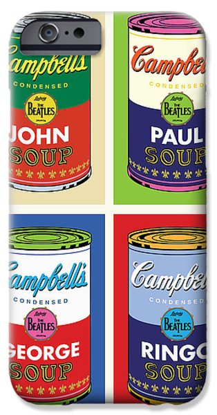 Beatles Soup iPhone Case by Gary Grayson