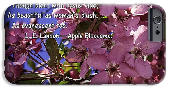 Poetic iPhone Cases - Beautiful As A Womans Blush iPhone Case by Janice Rae Pariza