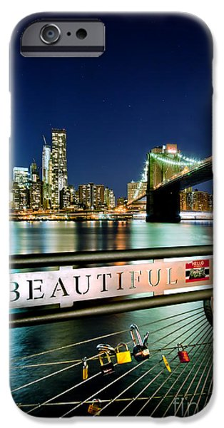 Midtown iPhone Cases - Beautiful iPhone Case by Az Jackson