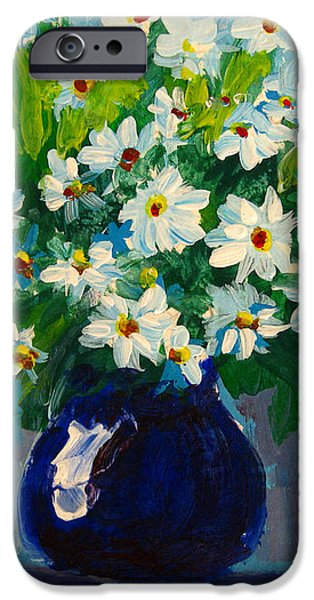 Beautiful Daisies  iPhone Case by Patricia Awapara