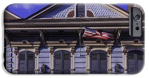 Building iPhone Cases - Beautiful House french Quarter iPhone Case by Garry Gay