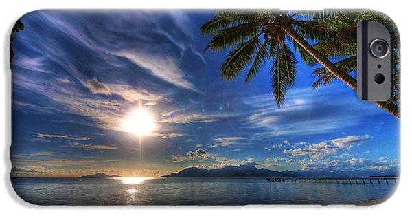 Beach Landscape iPhone Cases - Beautiful island getaway  iPhone Case by Ilija Markovski