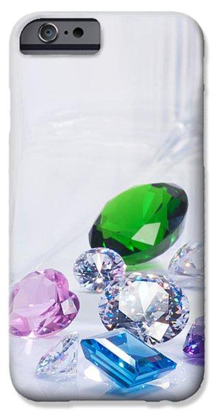 beautiful jewel iPhone Case by ATIKETTA SANGASAENG