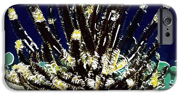 Granulatus iPhone Cases - Beautiful marine plants 10 iPhone Case by Lanjee Chee