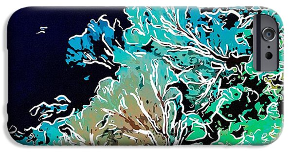 Granulatus iPhone Cases - Beautiful Sea fan coral 1 iPhone Case by Lanjee Chee