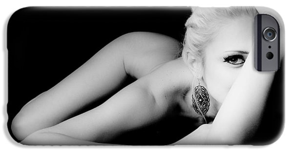 Provocative Photographs iPhone Cases - Beautiful Shape iPhone Case by Jt PhotoDesign