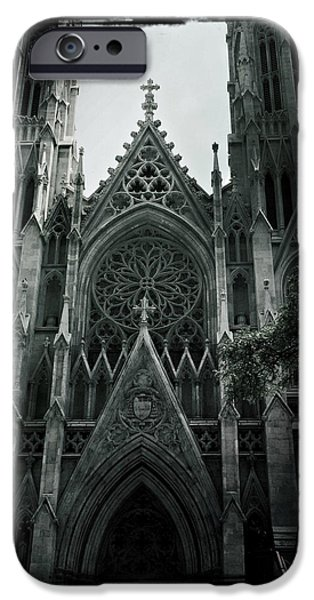 White House iPhone Cases - Beautiful St Patricks Cathedral iPhone Case by Miriam Danar