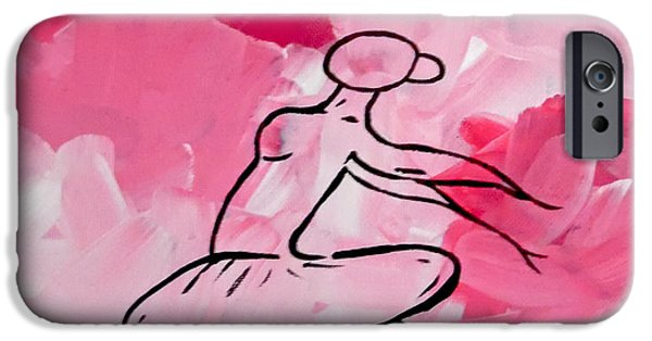 Ballet Dancers iPhone Cases - Beauty iPhone Case by Jilian Cramb