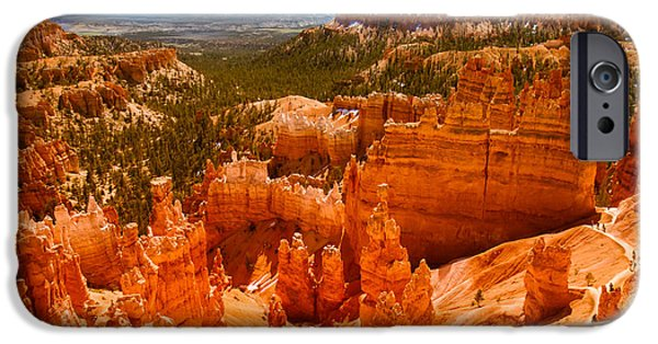 Haybale iPhone Cases - Beauty Of Bryce Canyon iPhone Case by Robert Bales