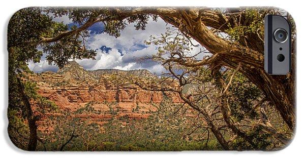 Sedona iPhone Cases - Beauty Of Sedona - Arizona iPhone Case by Jon Berghoff