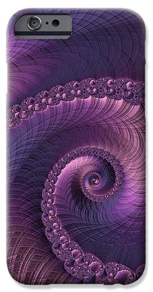 Surrealism Digital iPhone Cases - Beauty of Sorrow iPhone Case by Susan Maxwell Schmidt
