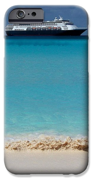 Half Moon Cay iPhone Cases - Beckoning iPhone Case by Karen Wiles