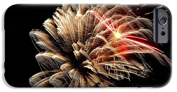 Fireworks iPhone Cases - Bedazzling Freedom iPhone Case by Tami Quigley