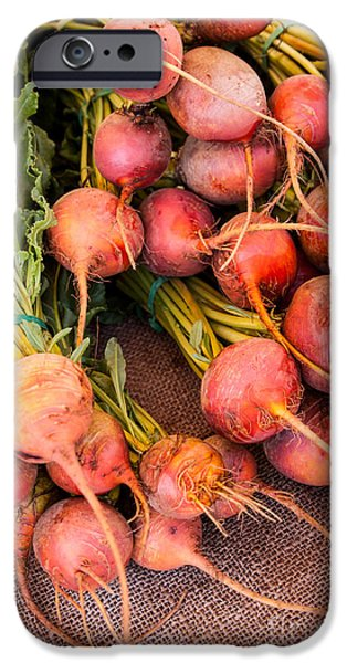 Organic Foods iPhone Cases - Beets iPhone Case by Ana V  Ramirez