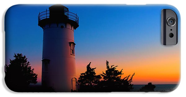 Recently Sold -  - New England Lighthouse iPhone Cases - Before Dawn iPhone Case by Mark Miller