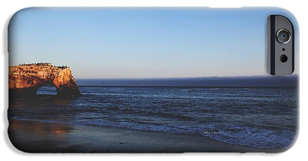 Santa Cruz Ca iPhone Cases - Before The Day is Done iPhone Case by Laurie Search
