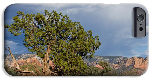 Sedona iPhone Cases - Before the Storm - Sedona Arizona iPhone Case by TN Fairey