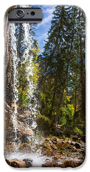 Limited Edition iPhone Cases - Behind Spouting Rock Waterfall - Hanging Lake - Glenwood Canyon Colorado iPhone Case by Brian Harig