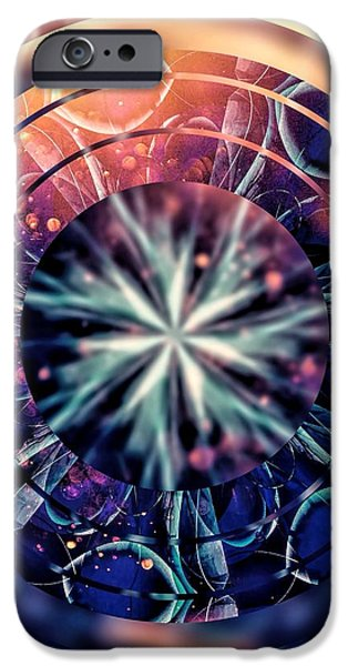 Abstractions iPhone Cases - Behind the Photographers Eye iPhone Case by Susan Maxwell Schmidt