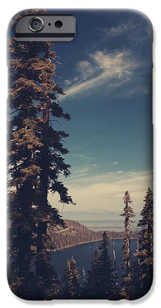 Pines iPhone Cases - Believing You Were There iPhone Case by Laurie Search