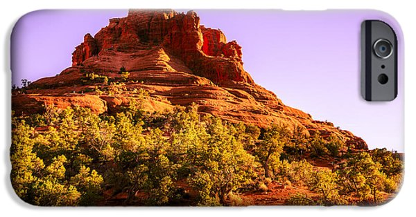 Sedona iPhone Cases - Bell Rock in Sedona iPhone Case by Alexey Stiop