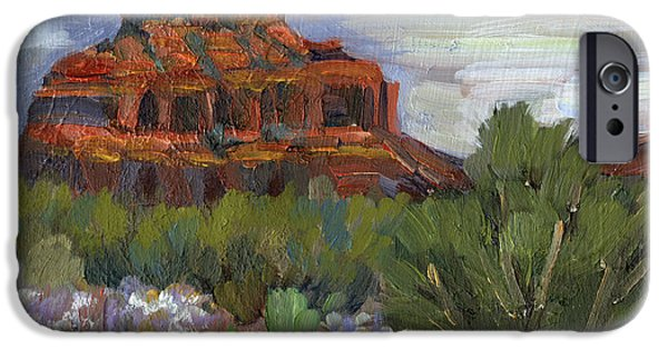 Sedona iPhone Cases - Bell Rock Sedona iPhone Case by Diane McClary