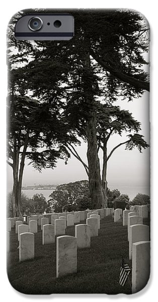 Alcatraz iPhone Cases - Beneath the Trees iPhone Case by DUG Harpster